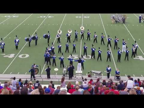 Windthorst High School Marching Band 2017 Regional Marching Contest