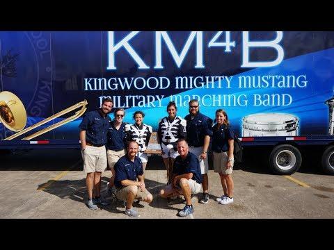 Kingwood High School Marching Band KM4B Region UIL 2017