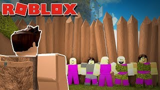 RECRUITING THE BIGGEST TRIBE IN THE GAME! -- ROBLOX BOOGA BOOGA {2}