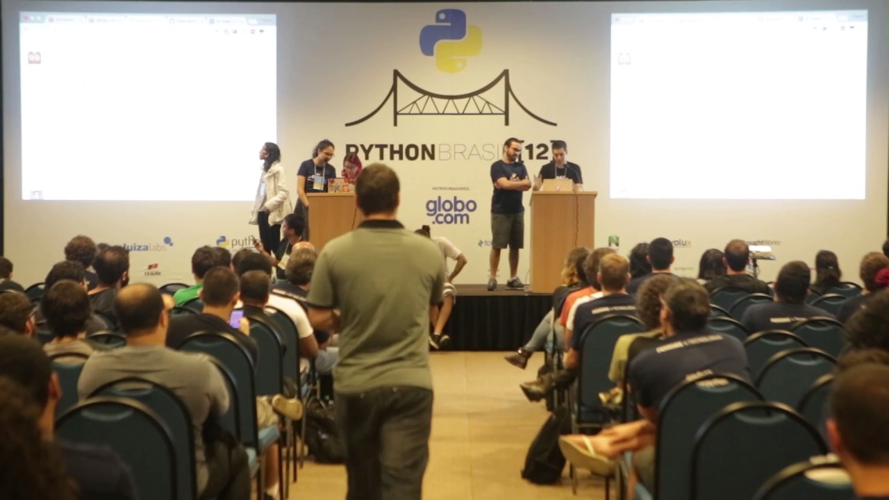 Image from lightning talk - Flávio e Felipe