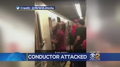 Irate Riders Assault Conductor On Brooklyn Subway
