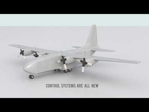Dorsal Aircraft Container Cargo Aircraft Concept