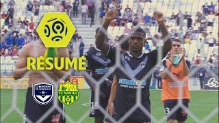 Girondins de Bordeaux - FC Nantes (1-1)  - Résumé - (GdB - FCN) / 2017-18
