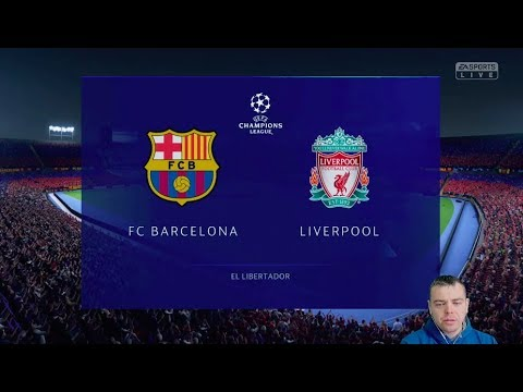 видео: Фифа Прогноз! Барселона vs Ливерпуль - 1/2 Лига Чемпионов  2018/2019!  + Ставка!