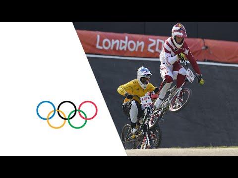 BMX Men's Final Highlights - Strombergs Gold   London 2012 Olympics