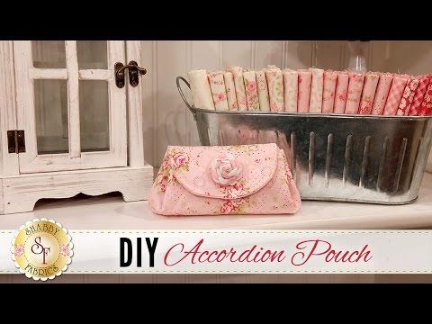 DIY Accordion Pouch | a Shabby Fabrics Sewing Tutorial
