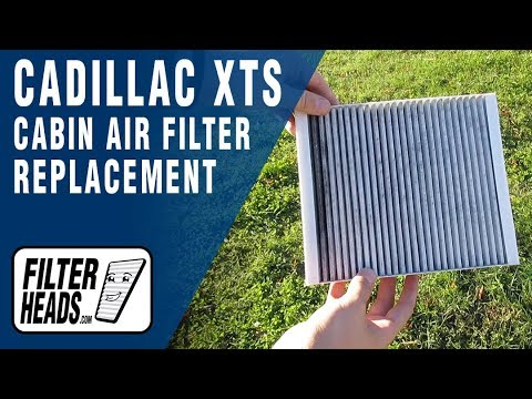 How to Replace Cabin Air Filter 2013 Cadillac XTS