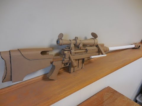 Cardboard PGM Hecate II (Anti-Materiel Rifle) and 100 subs!
