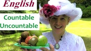 Learn English Conversation Online Teacher Countable and Uncountable nouns, Part 2