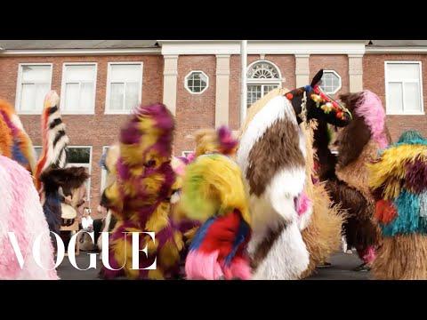 A Live Performance of Nick Cave's Soundsuits - Vogue Mp3