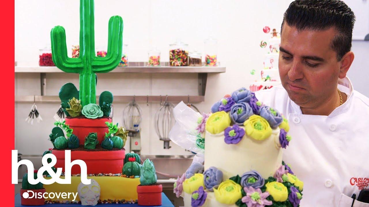 Un Jardín De Pasteles Cake Boss Discovery H H Youtube