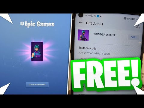 HOW TO GET THE EXCLUSIVE *WONDER* SKIN FOR FREE IN FORTNITE... (THE METHOD)