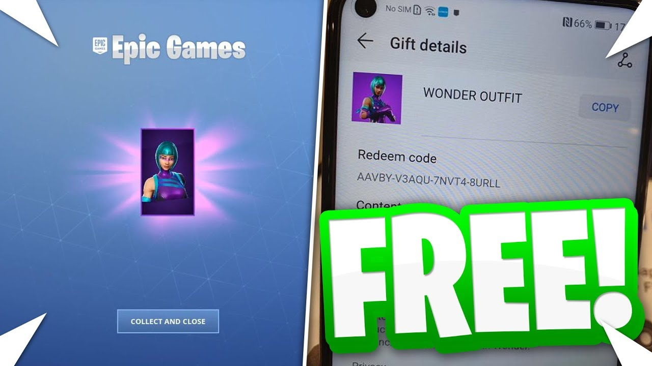 HOW TO GET THE EXCLUSIVE *WONDER* SKIN FOR FREE IN ...