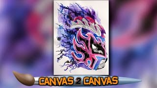 The King of Flight hits the canvas: WWE Canvas 2 Canvas