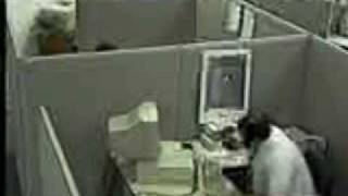 Bad Day in the Office - Actuall CCTV Footage