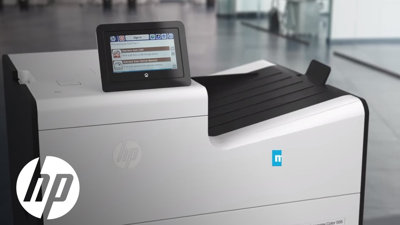 hp pagewide enterprise color 556 printer official first look