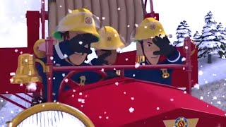 Fireman Sam US | A Dangerous Rescue | Snow and Storm Rescue 🚒 🔥 Kids Movies