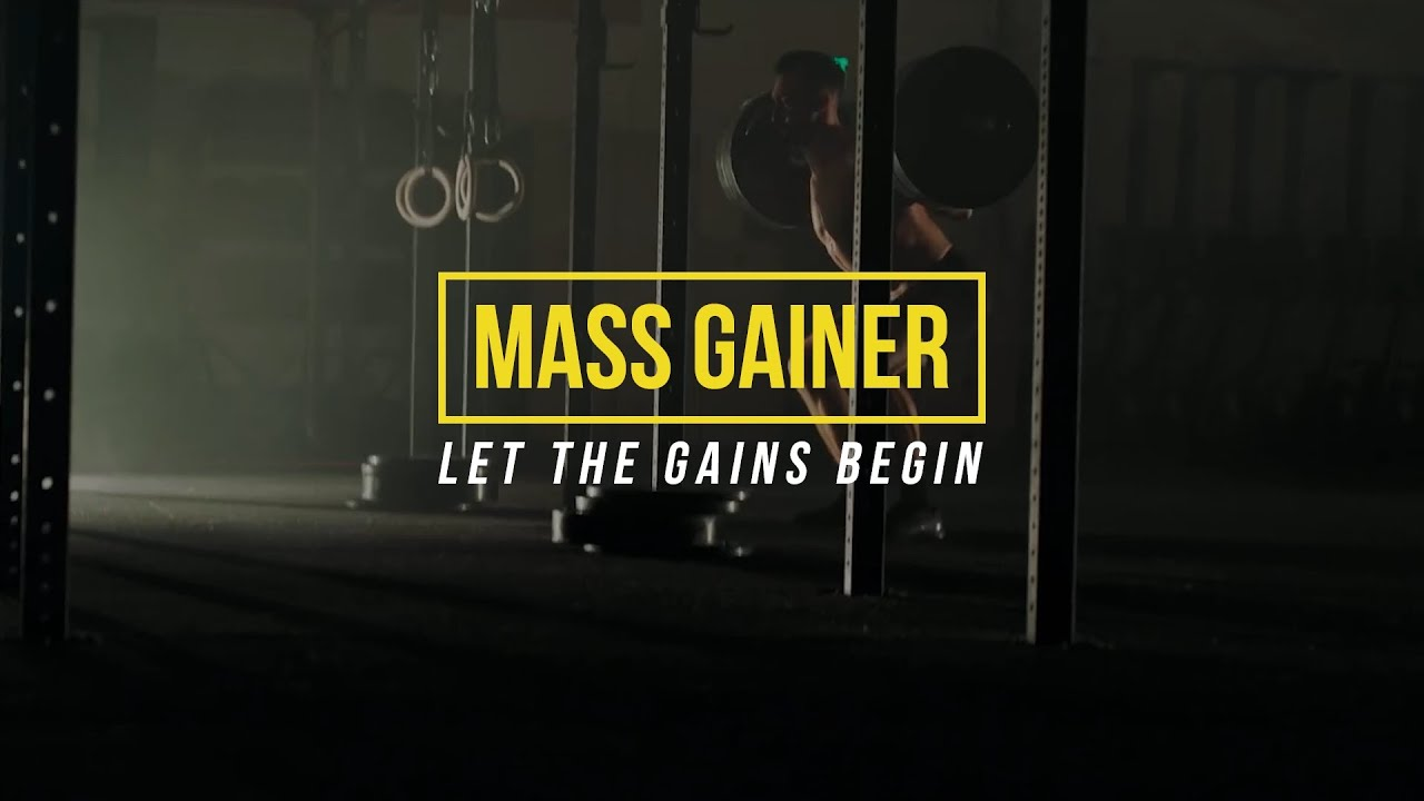 image of mass gainer pposter