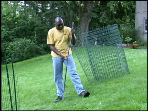 How To Install Garden Fencing YouTube