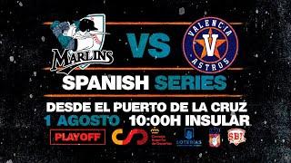 Spanish Series. Tenerife Marlins vs Astros de Valencia
