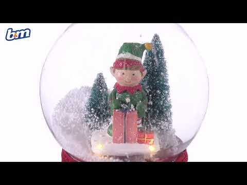 Christmas Musical Snow Globe | B&M Stores