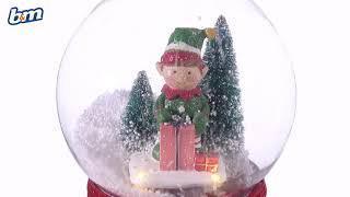 Christmas Musical Snow Globe | B&M Stores