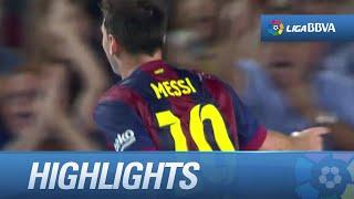 Resumen de FC Barcelona (3-0) Elche CF - HD
