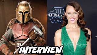 The Armorer Emily Swallow Interview The Mandalorian - Rule of Two