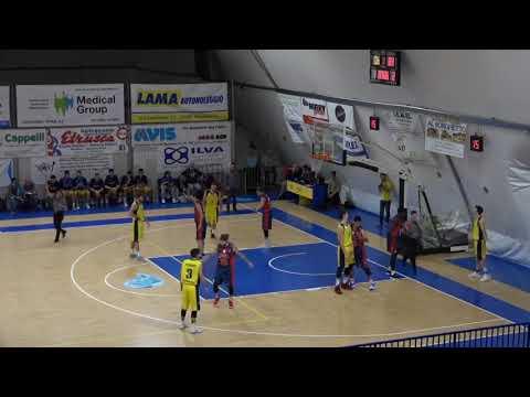 XVII Giornata (14/01/18): Basket Golfo Piombino vs La Buca Del Gatto Basket Cecina