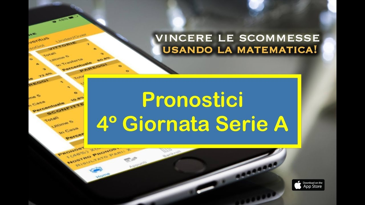 3d56e21376 PRONOSTICI SERIE A: 4° GIORNATA (16 e 17 Settembre 2017) | Stats4Bets