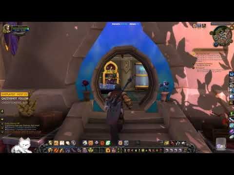 World of Warcraft [PC] Boosted 100 Human Paladin. Legion artifact quest. ( ¬‿¬)