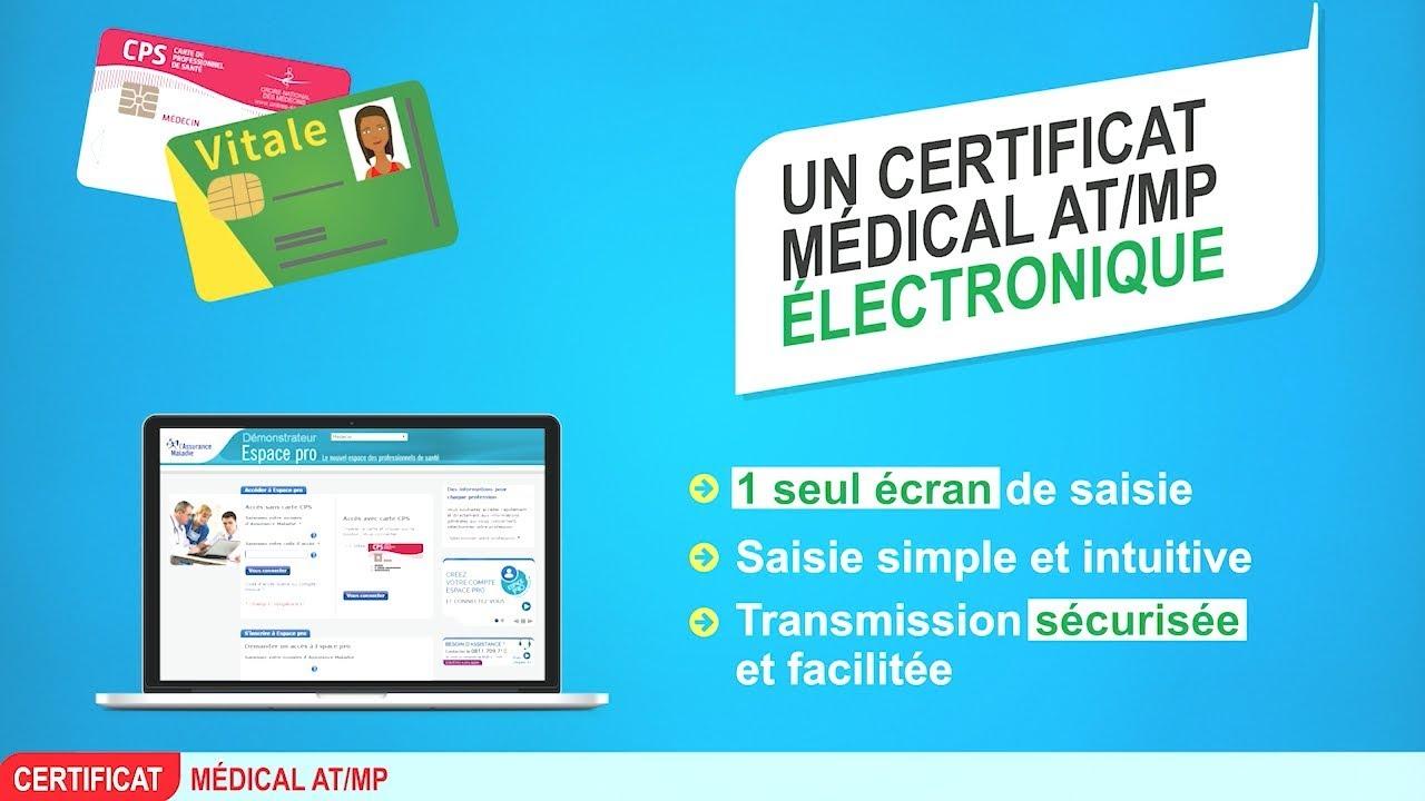Certificat Medical Accident Du Travail Maladie Professionnelle Cm