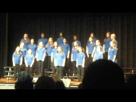 Andrew lewis middle school Christmas choir