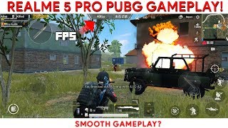 Realme 5 Pro PUBG GAMEPLAY PERFORMANCE REVIEW with FPS DATA!