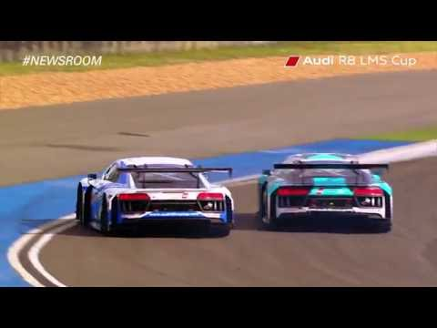 Round 3 at the Chang International Circuit in Buriram  Audi R8 LMS Cup 2016