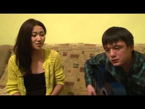 Дети таланты.  Девушка из Казахстана красиво поет
