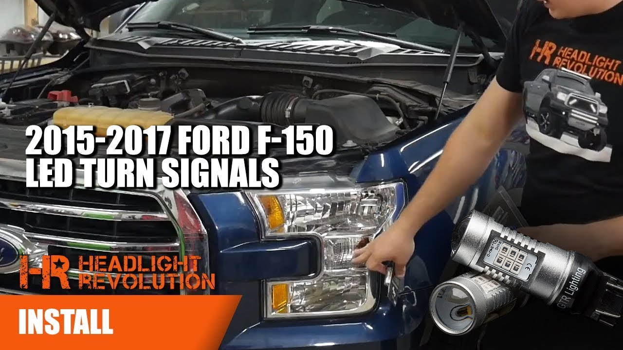 2015 2017 Ford F 150 Led Turn Signal Bulbs Upgrade Install