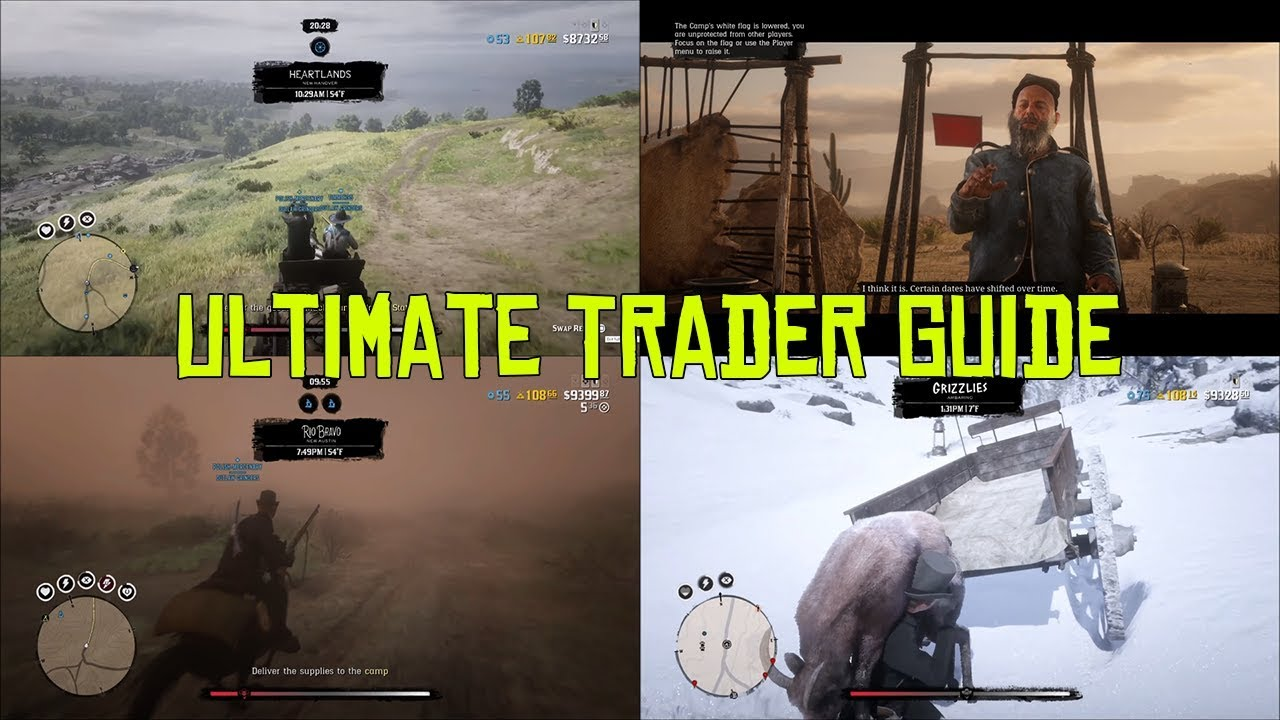Red Dead Online Ultimate Trader Guide How To Make Money With The Trader Youtube