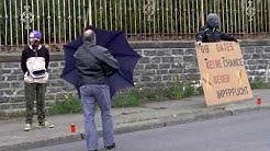 Stiller Protest in Neugersdorf