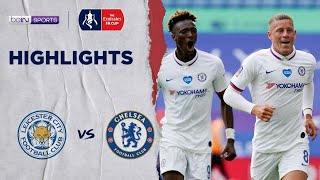 Leicester City 0-1 Chelsea | Fa Cup 19/20 Match Highlights