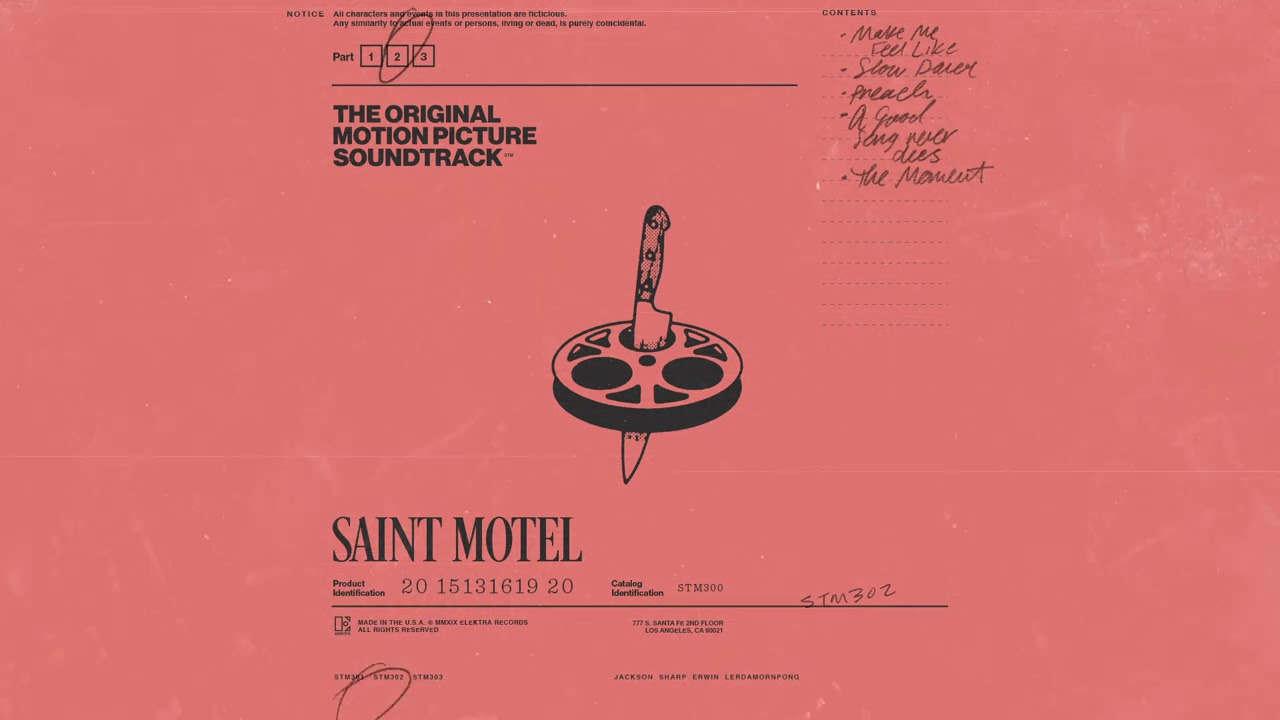 SAINT MOTEL - Make Me Feel Like (Official Audio)