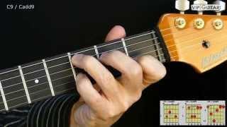 gitarrenakkorde c9 cadd9 chord