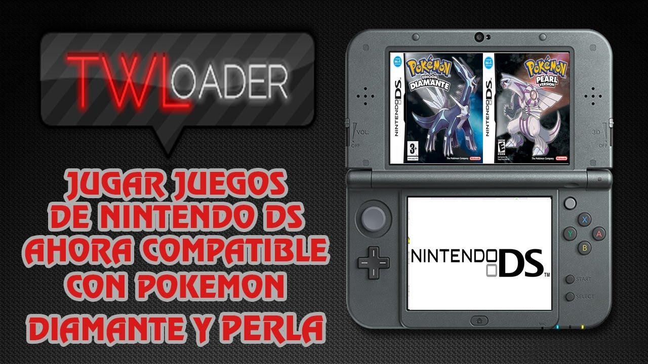 [TUTORIAL] TWLOADER 5 5 1 JUGAR JUEGOS DE DS EN NINTENDO 3DS COMPATIBLE CON  POKEMON DIAMANTE Y PERLA
