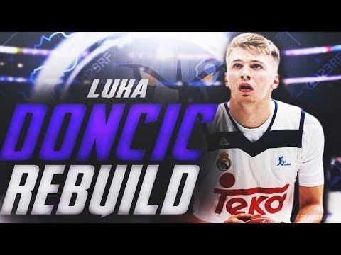 LUKA DONCIC MEMPHIS GRIZZLIES REBUILD! NBA 2K18