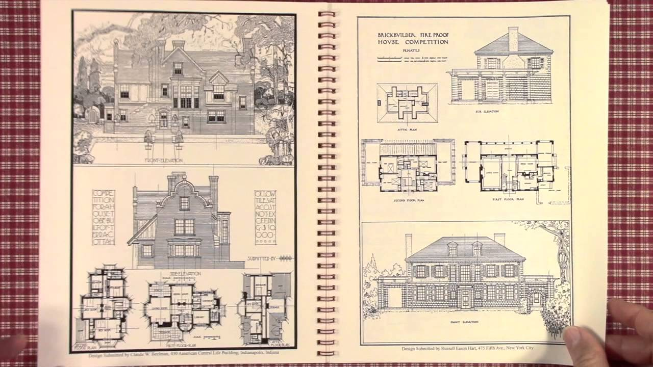 House design books - House Design Competitions Book 2 Natco A Book Of House Designs 1910
