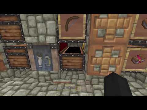 Minecraft 100% survival on Hard working on the auto sorter  [PS4] :P