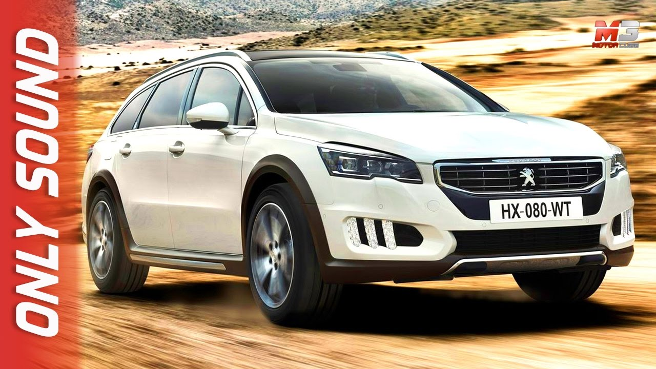 new peugeot 508 rxh 2017 - first test drive only sound - youtube