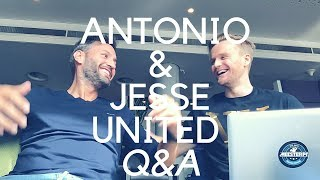 Antonio and Jesse talk life and  Q&A in Amsterdam