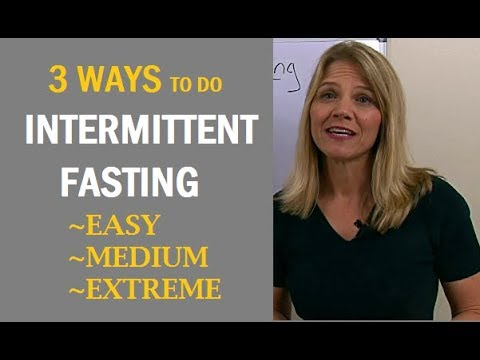 3 Ways To Do Intermittent Fasting: Easy, Medium & Extreme #1