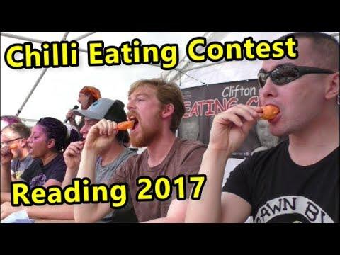 Chilli Eating Contest | Reading Chili Festival | Saturday June 2017